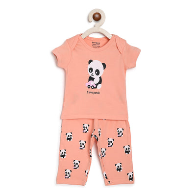 panda nightsuit set