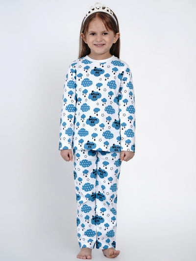 baby girl night suit set