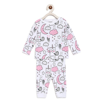 unicorn night suit set