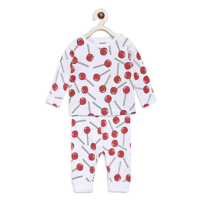 lollipop design night suit