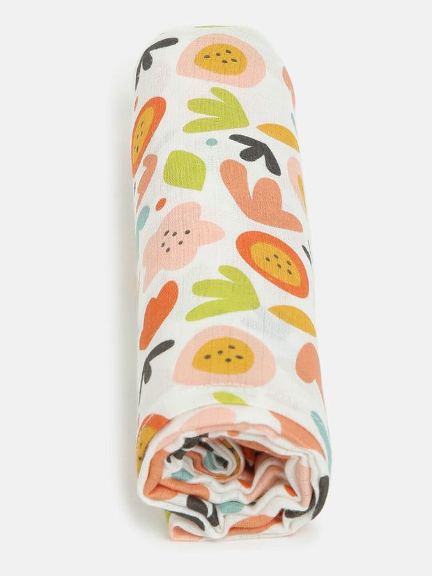 colorful swaddle wrap