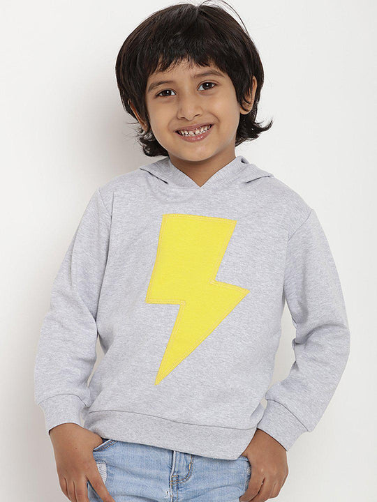 boys sweatshirt hoodie white organic cotton berrytree
