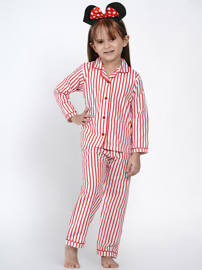 red stripes nightsuit berryrtee