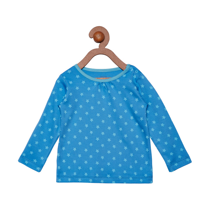 Berrytree Organic Cotton Long Top Blue Star