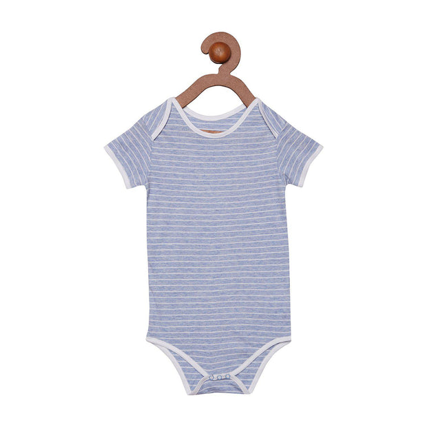 Berrytree Organic Cotton Baby Onesie Blue