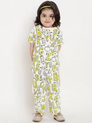 yellow night suit for girls india online