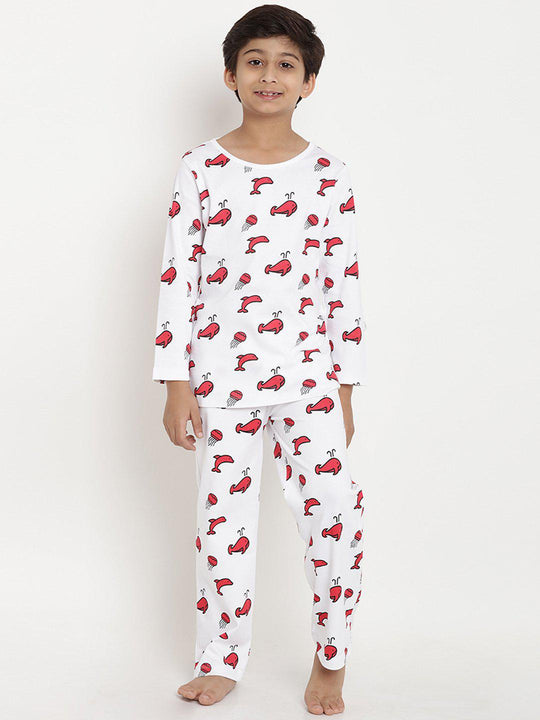 night suite organic cotton boy