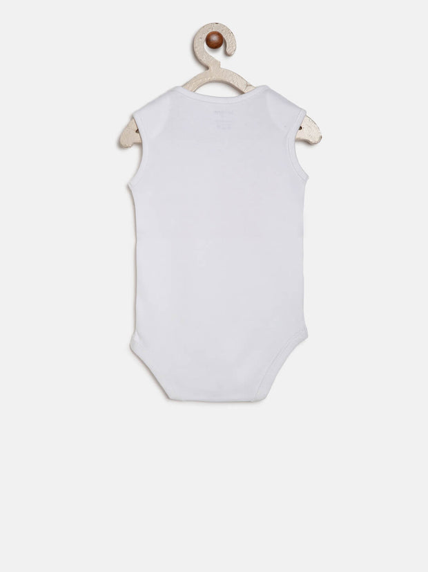 elephant organic cotton onesie
