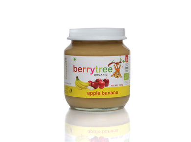 Berrytree Organic Baby Food Apple Banana