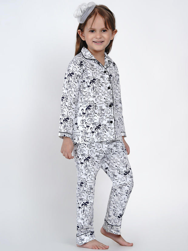 soft cotton animal night wear