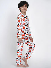 organic cotton cars night suit