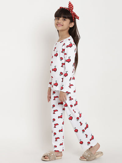 night suit girls organic cotton kids