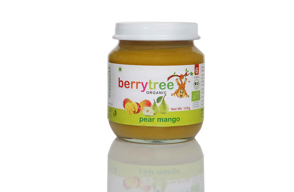 Berrytree Organic Baby Food Pear Mango