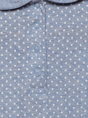 Berrytree Organic Cotton Baby Onesie Peter Pan Blue Star