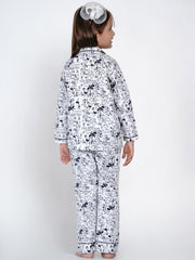all over printed PJ set