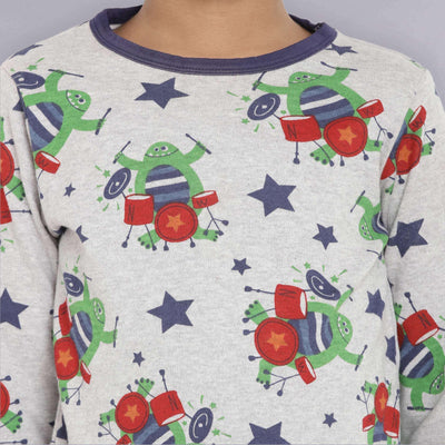 grey top organic cotton kids berrytree