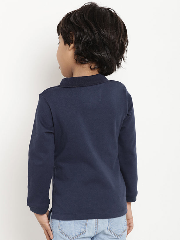 polo shirt organic cotton kids berrytree