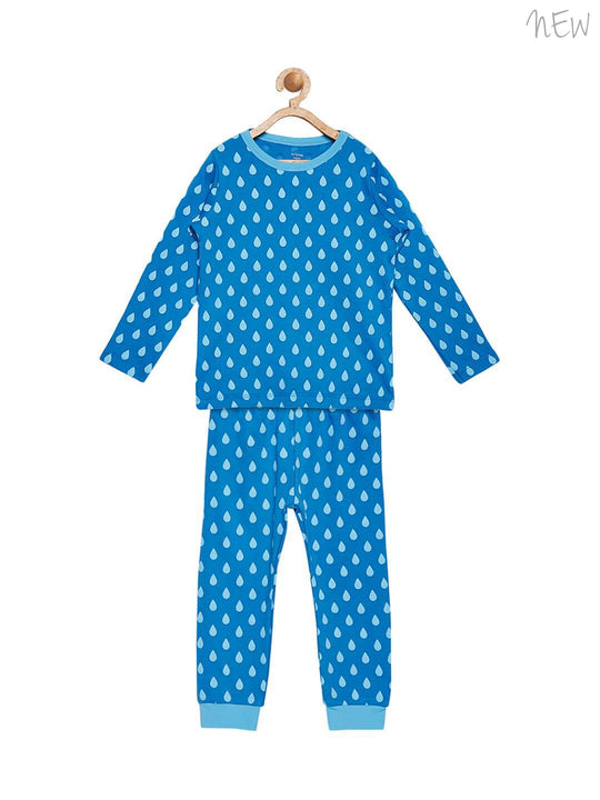 organic cotton night suit set for kids