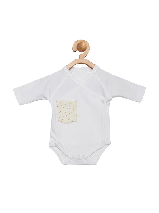 white onesie for babies