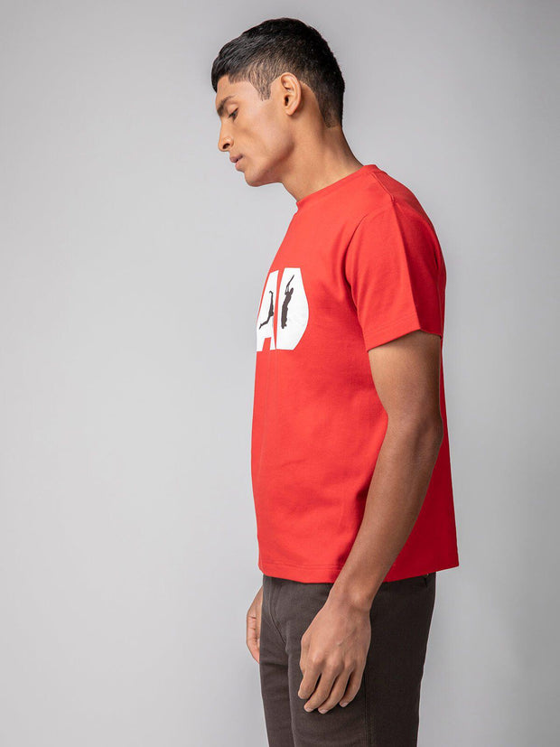 side look handsome tshirt men