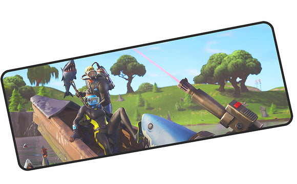 FORTNITE XL MOUSE MAT - Sharks