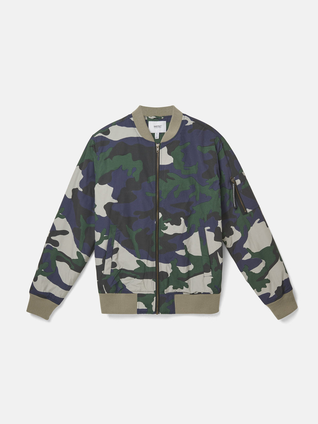 533ed674618a7 THE CAMO BOMBER – WeSC USA