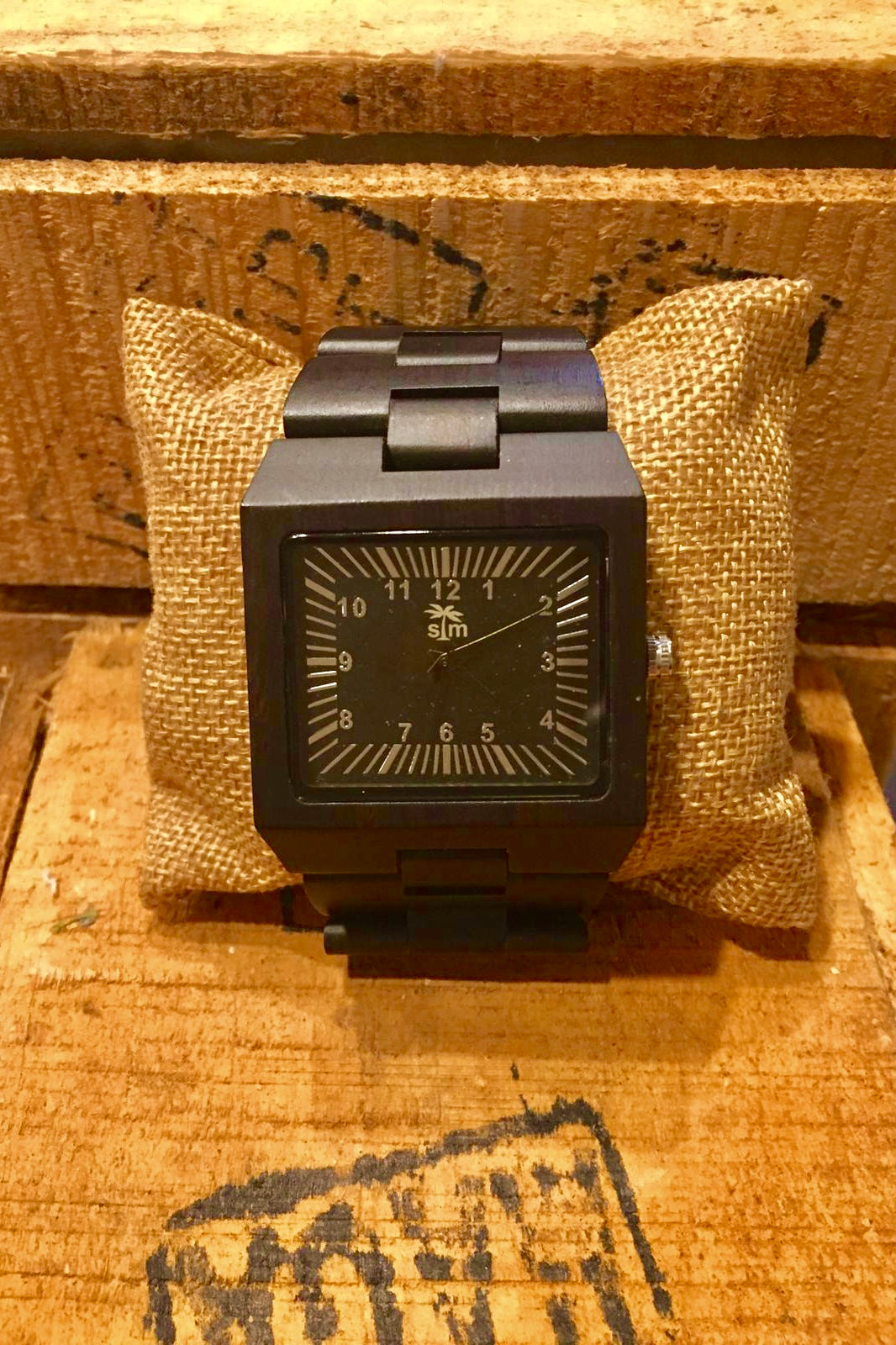Watch Large Wood Watch - Ebony