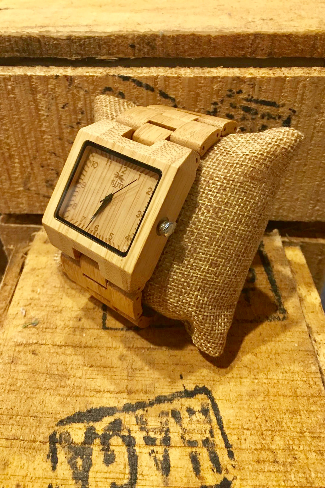 Watch Large Wood Watch - Bamboo