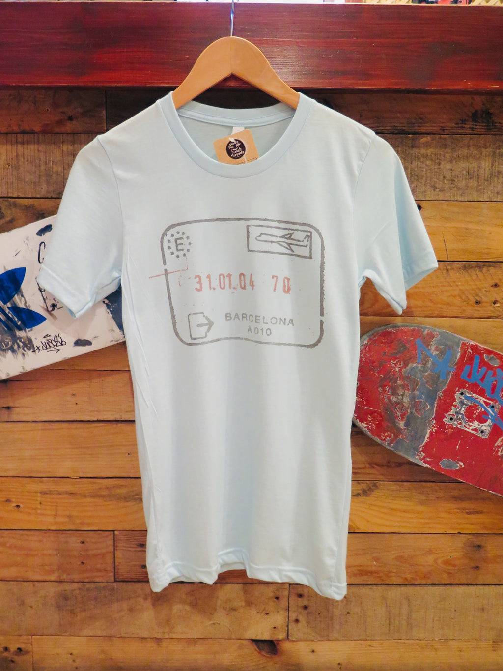 Tee Passport Blue