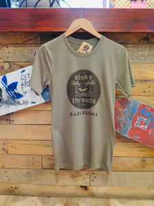 Tee Olive Stoke Threads