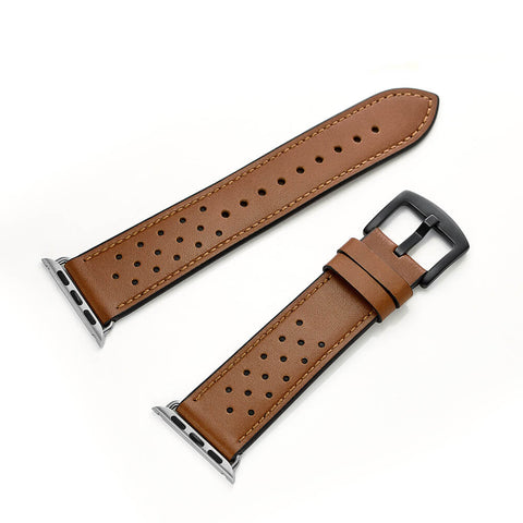 Florence Leather Apple Watch Band (Tan)