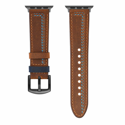 Venice Leather Apple Watch Band (Tan)