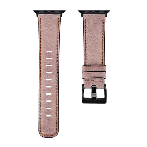 Antique Leather Apple Watch Band (Antique Pink)