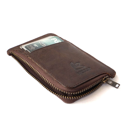 SLIM WALLET (BROWN)