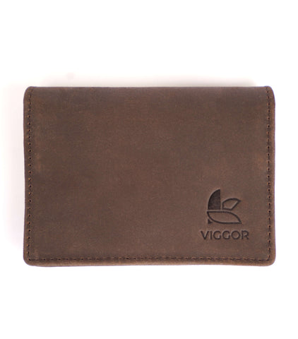 FLIP WALLET (BROWN)