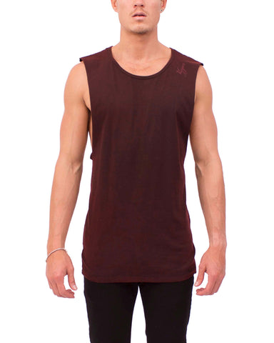 DRAPE TANK (Red Coal)