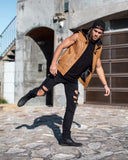 DARE DEVIL VEST (TAN)