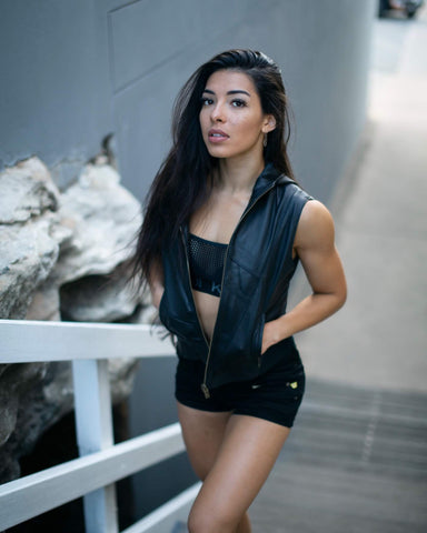 SCOOP VEST (BLACK)