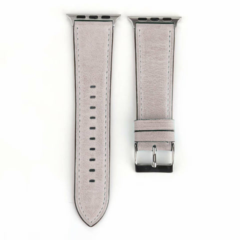 Sorrento Leather Apple Watch Band (White)