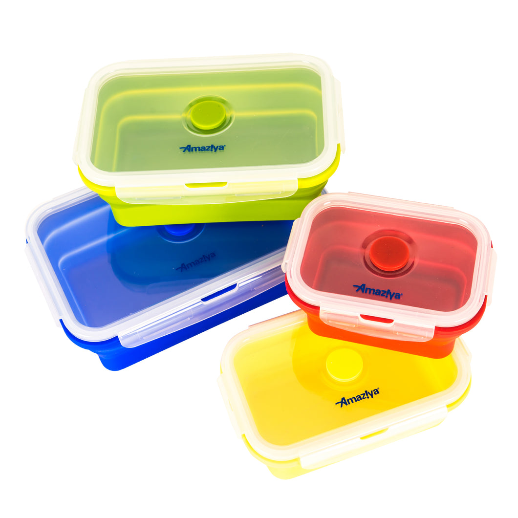 Silicone Collapsible Food Containers