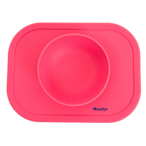 Silicone Baby Bowl Coral