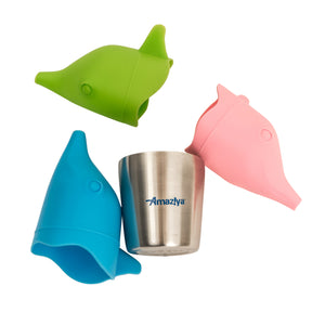Silicone Sippy Cup Lids 3-pack