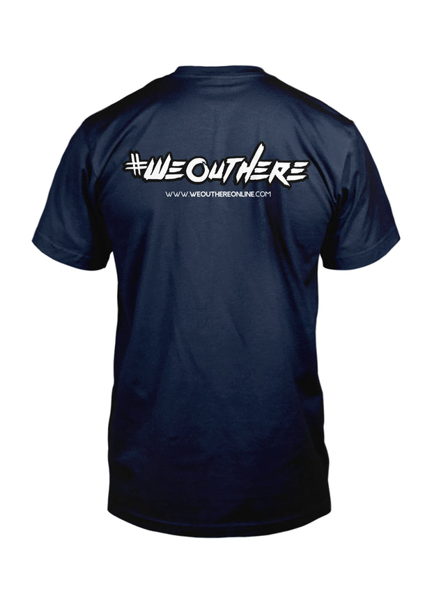 "#WeOutHere™ ""GET **IT DONE"" T-SHIRT (Navy) - We Out Here"