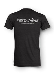 "#WeOutHere™ ""TAGGED"" T-SHIRT (Black) - We Out Here"