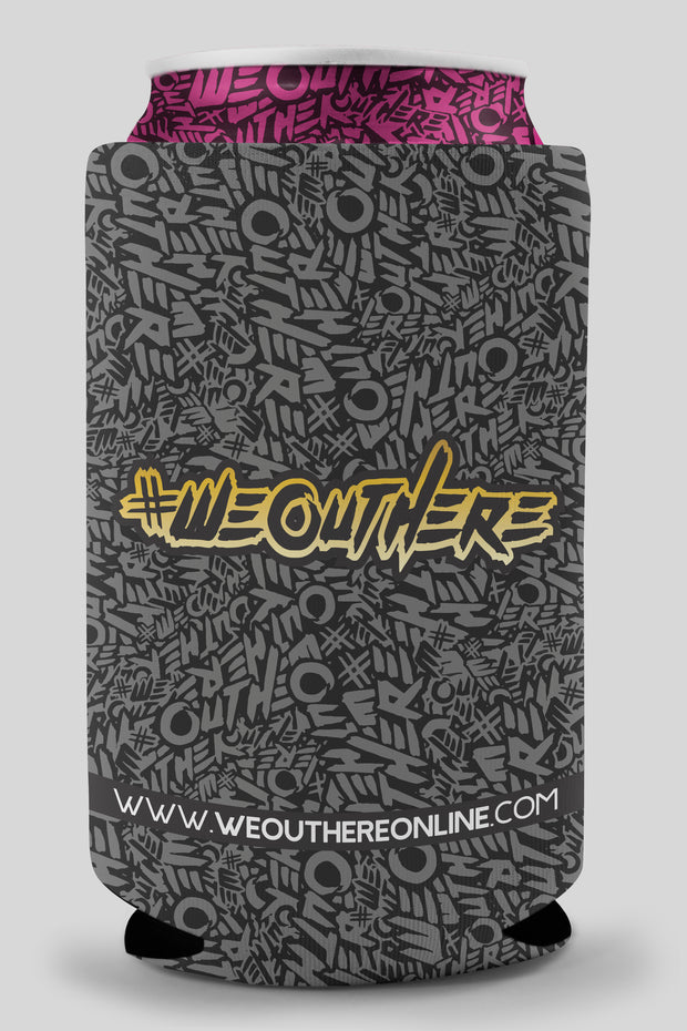 #WeOutHere™ Koozies BLACK - We Out Here