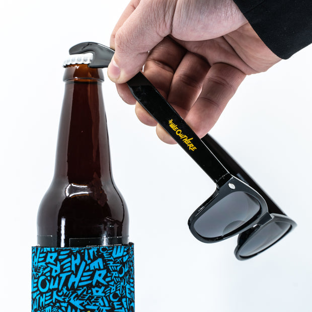 #WeOutHere™ Sunglasses w/Bottle Opener - We Out Here