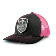 LIMITED LONESTAR THROWDOWN PATCH SNAP BACK BLACK/PINK - We Out Here