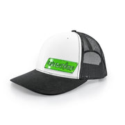 "#WeOutHere™ ""OUTLINE"" GREEN BILLET SNAPBACK (White/Black) - We Out Here"