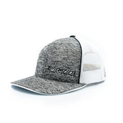 #WeOutHere™ (Heathered Gray/White Logo) SNAP BACK HAT - We Out Here