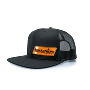 "#WeOutHere™ ""OUTLINE"" ORANGE BILLET SNAPBACK (Black) - We Out Here"